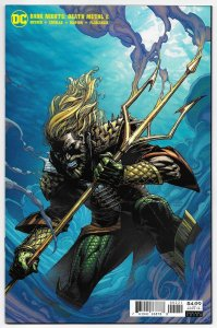 Dark Nights Death Metal #2 Finch Aquaman Variant (DC, 2020) NM