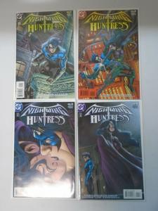 Nightwing and Huntress set #1-4 8.0/VF (1998)