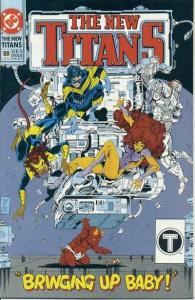 New Titans #88, NM- (Stock photo)