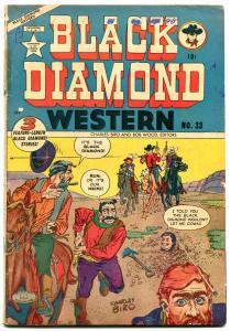 BLACK DIAMOND WESTERN #33 1952 CANADIAN VG