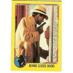1990 Topps DICK TRACY-BEHIND CLOSED DOORS #84