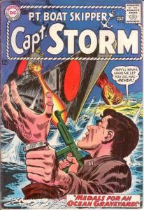 CAPTAIN STORM (1964-1967) 6 VG-F KUBERT ART April 1965 COMICS BOOK