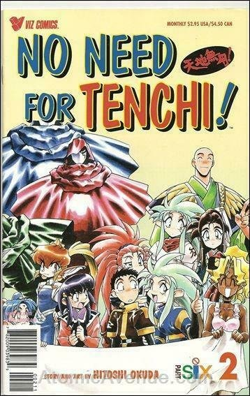 No Need for Tenchi! Part 6 #2 FN; Viz   save on shipping - details inside