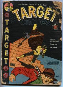 Target Vol 2 #3 TARGET Space Hawk by Basil Wolverton 1941 Golden Age