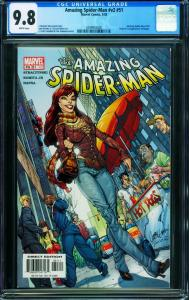 AMAZING SPIDER-MAN v.2 #51-CGC 9.8-J. SCOTT CAMPBELL COVER- 0299933006
