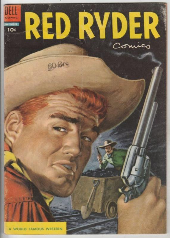 Red Ryder Comics #134 (Sep-54) FN Mid-Grade Red Ryder