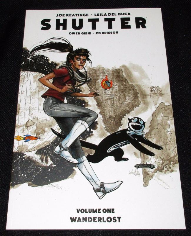Shutter Vol 1: Wanderlost - Collects Issues #1-6 (Image, 2015) - New!