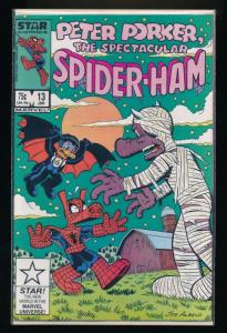 Marvel/Star Comics Peter Porker, the Spectacular Spider-Ham #13 ~ VF  (PF90)
