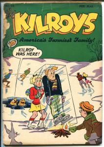 Kilroys #16 1949-ACG-ice skating cover-FR