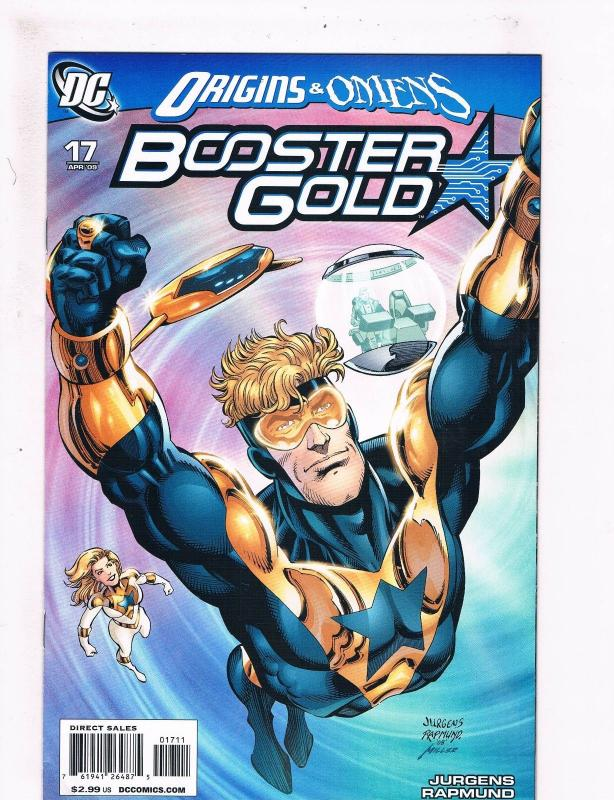 Booster Gold #17 NM 1st Print DC Comic Book 2009 Justice League Batman Flash S61