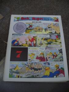 BUCK ROGERS #7-ITALIAN SUNDAY STRIP REPRINTS-CALKINS FN