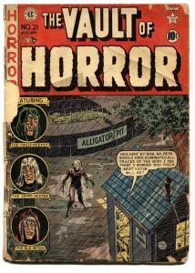 Vault of Horror #21 Pre-code horror-Violent Brutal comic book 1953- EC