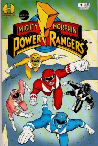 mighty morphin power rangers #1VFN/NM $8.00