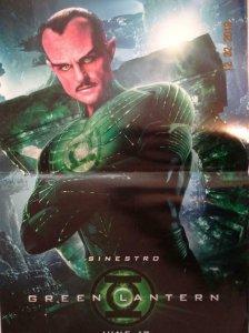 GREEN LANTERN Promo Poster, 11 x 17, 2017, DC Sinestro  Unused 388