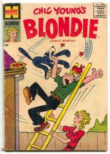 Blondie Comics #94 1956- Harvey humor VG
