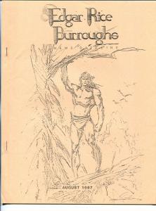 Edgar Rice Burroughs News Dateline #27  2/1987-Tarzan-newletter-fanzine-VF