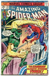 Amazing Spider-Man #154 1976-MARVEL COMICS-sandman strikes twice VG