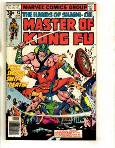 10 Master of Kung Fu Marvel Comics # 53 54 55 56 57 58 60 61 62 63 WS6
