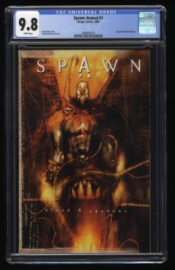 Spawn Annual #1 CGC NM/M 9.8 White Pages