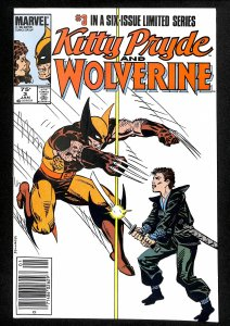 Kitty Pryde and Wolverine #3 (1985)
