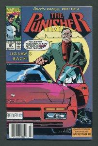 Punisher #35 / 9.4 NM  Jigsaw  Part One Newsstand  July 1990