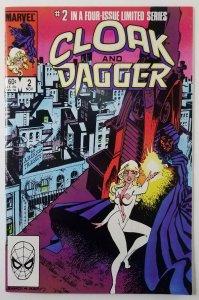 ? Cloak and Dagger 1983 Limited Mini-Series Compete Run 1-4 Price Variant NM