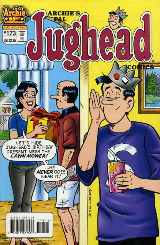 Archie's Pal Jughead Comics #173 VF/NM; Archie | save on shipping - details insi