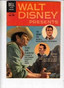 Walt Disney Presents #5 (Nov-60) VF High-Grade The Swamp Fox, Elfago Baca