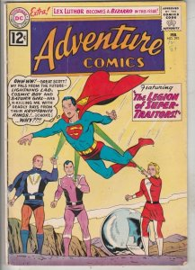 Adventure Comics #293 (Feb-62) FN- Mid-Grade Superboy, Legion of Super-Heroes...