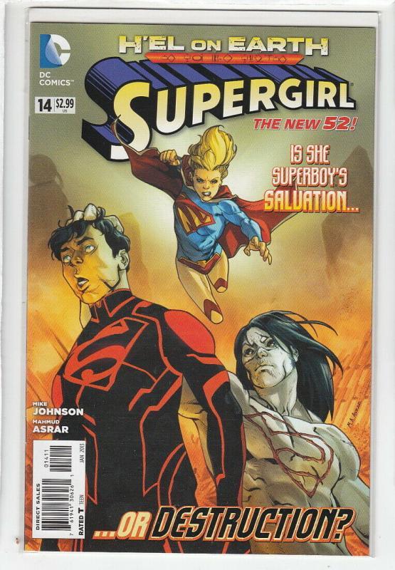 SUPERGIRL (2011 DC) #14 NM- A90666