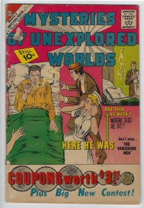 Mysteries of Unexplored Worlds, #24, May 1961, Ditko Cover & Art