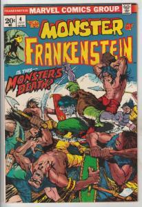 Frankenstein, the Monster of #4 (Jul-73) VF/NM High-Grade Frankenstein