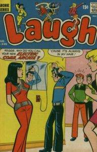 Laugh Comics #245, VG+ (Stock photo)