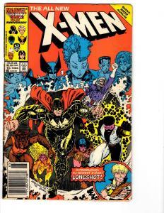 2 X-Men Marvel Comic Books Annual # 10 11 Storm Wolverine Nightcrawler BH15
