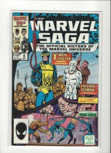 The Marvel Saga the Official History of the Marvel Universe #6 VF/NM