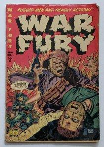 Wary Fury #1 (Sept 1952, Comic Media) Good- 1.8 Don Heck cover & art