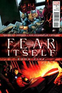Fear Itself #5, NM + (Stock photo)