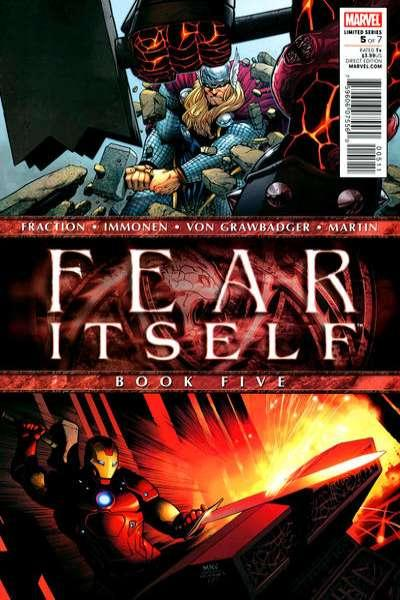 Fear Itself #5, NM (Stock photo)