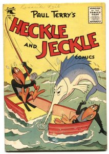 Heckle and Jeckle #24 1955-Golden Age Funny Animal comic VG