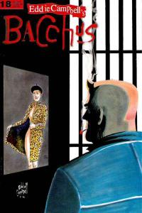 Eddie Campbell's Bacchus #18, VF+ (Stock photo)