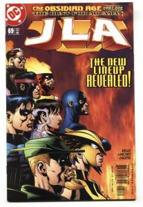 JLA #69-1st appearance of Faith-DC