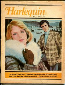 Harlequin Vol. 4 #11 1976-romantic pulp fiction-based on paperback books-G/VG