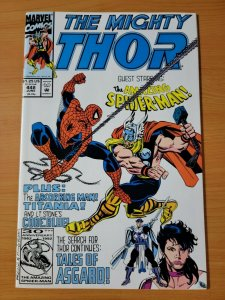 The Mighty Thor #448 Direct Market Edition ~ NEAR MINT NM ~ 1992 Marvel Comics