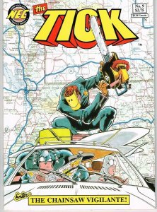 the TICK  #9  (1st prt)