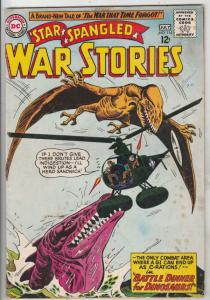 Star Spangled War Stories #115 (Jul-64) VG/FN Mid-Grade War That Time Forgot ...