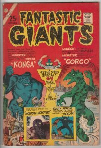 Fantastic Giants #24 (Sep-66) FN/VF+ High-Grade Konga, Gorgo, Hogar