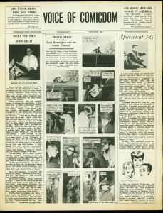 Voice of Comicdom Fanzine #6 1966- Ron Foss- Biljo White- Alex Kotzky VG