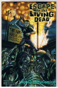 ESCAPE of the LIVING DEAD #4, NM, Avatar, Zombies, 2005, more Horror in store