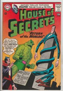 House of Secrets #68 (Oct-64) VF- High-Grade Mark Merlin, Eclipso
