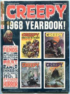 Creepy Yearbook 1968 1968- Frazetta-Warren Magazine- G/VG